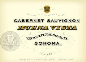 Вино красное сухое «Buena Vista Cabernet Sauvignon»