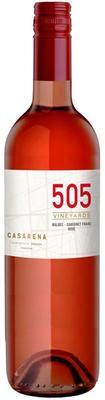 Вино розовое сухое «Casarena 505 Rose Malbec-Cabernet Franc» 2015 г.