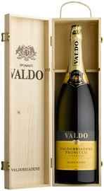 Вино игристое белое брют «Marca Oro Valdobbiadene Prosecco Superiore» в подарочной упаковке