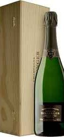 Шампанское белое брют  «Bollinger Vieilles Vignes Francaises Brut» 2002 г., в деревянной подарочной упаковке