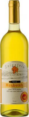 Вино белое полусладкое «Szigetvin Muskotaly Tolnai» 2013 г.