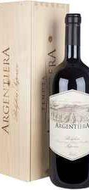Вино красное сухое «Argentiera» 2012 г., в деревянной упаковке