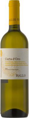 Вино белое сухое «Rallo Carta d'Oro» 2013 г.