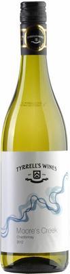 Вино белое сухое «Tyrrell's Wines, Moore's Creek Chardonnay» 2012 г.