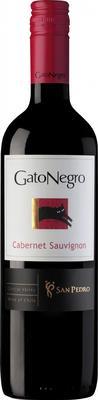 Вино красное полусухое «Gato Negro Cabernet Sauvignon, 0.187 л» 2015 г.