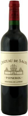 Вино красное сухое «Chateau de Sales» 2011 г.