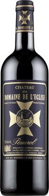 Вино красное сухое «Chateau du Domaine de L'Eglise» 2008 г.