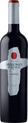 Вино красное сухое «Misiones de Rengo Carmenere Central Valley» 2014 г.