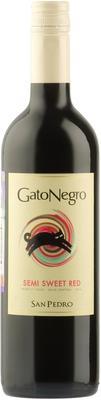 Вино красное полусладкое «San Pedro Gato Negro» 2014 г.