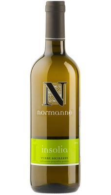 Вино белое сухое «Normanno Inzolia Terre Siciliane» 2014 г.