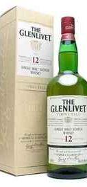 Виски шотландский «Glenlivet» в подарочной упаковке
