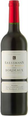 Вино красное сухое «Kressmann Grande Reserve Bordeaux» 2014 г.
