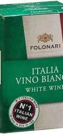 Вино белое полусухое «Folonari Italia Vino Bianco»