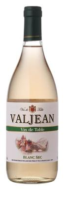 Вино белое сухое «Valjean Blanc Sec»