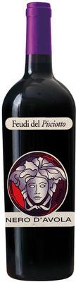 Вино красное сухое «Versace Nero D'avola»