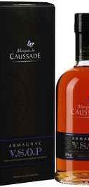 Арманьяк «Marquis de Caussade VSОP» в подарочной упаковке