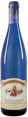 Вино белое полусладкое «Liebfraumilch» 2012 г. голубая бутылка