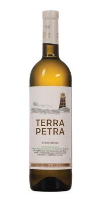 Вино белое сухое «Terra Petra»