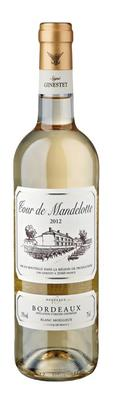 Вино белое полусладкое «Tour de Mandellotte Blanc Moelleux» 2012 г.