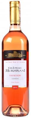 Вино розовое сухое «Chateau Mukhrani Tavkveri»