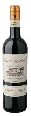 Вино красное сухое «Tour de Mandellotte Rouge» 2014 г.