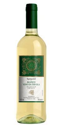 Вино белое полусладкое «Rampoldi Bianco»