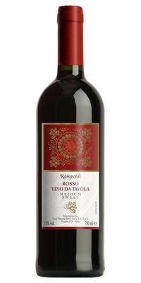 Вино красное полусладкое «Rampoldi Brunetto»