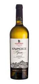 Вино белое полусладкое «Крымское Премиум Шардоне»