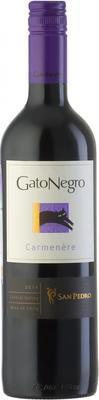 Вино красное полусухое «Gato Negro Carmenere» 2014 г.