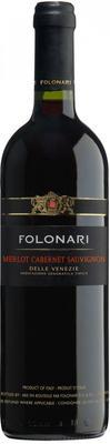 Вино красное сухое «Folonari Merlot Cabernet Sauvignon delle Venezie» 2012 г.