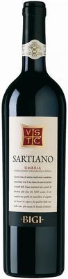 Вино красное сухое «Sartiano Umbria» 2010 г.