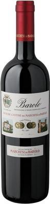 Вино красное сухое «Marchesi di Barolo Tradizione, 0.375 л» 2010 г.