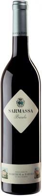 Вино красное сухое «Marchesi di Barolo Sarmassa» 2011 г.