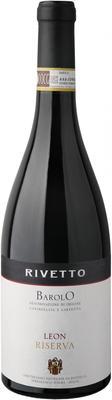 Вино красное сухое «Rivetto Leon Riserva» 2008 г.