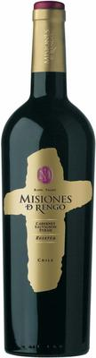 Вино красное сухое «Misiones de Rengo Cabernet Sauvignon-Shiraz Reserva» 2012 г.