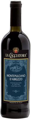 Вино красное полусухое «La Cacciatora Montepulciano d'Abruzzo» 2015 г.