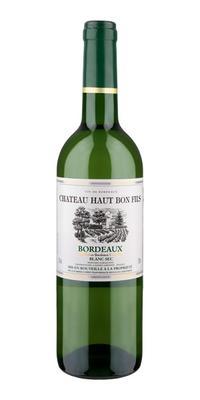 Вино белое сухое «Chateau Haut Bon Fils» 2018 г.