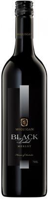 Вино красное полусухое «McGuigan Black Label Merlot» 2011 г.