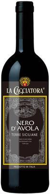 Вино красное полусухое «La Cacciatora Nero d'Avola Terre Siciliane» 2015 г.
