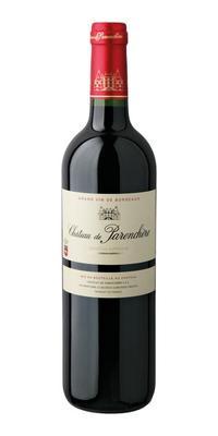 Вино красное сухое «Chateau de Parenchere Bordeaux Superieur» 2011 г.