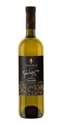 Вино белое сухое «Братья Асканели Цинандали» 2013 г.