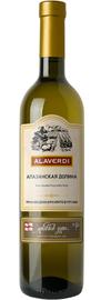 Вино белое полусладкое «Алаверди Алазанская Долина»