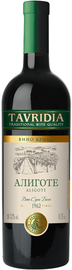 Вино белое сухое  «Алиготе»