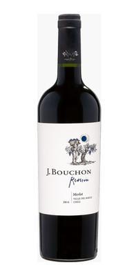 Вино красное сухое «J. Bouchon Merlot Reserva»