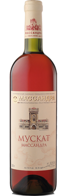 Вино розовое полусладкое «Мускат»