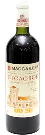 Вино красное сухое  «Столовое Красное Алушта»