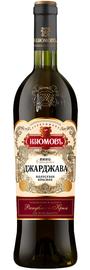 Вино красное полусухое «Джарджава»