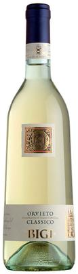Вино белое полусухое «Bigi Orvieto Classico Secco» 2015 г.