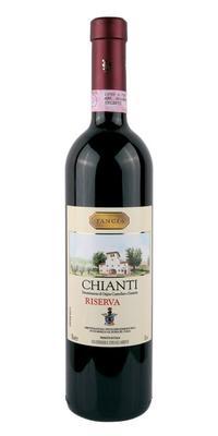 Вино красное сухое «Chianti Riserva» 2016 г.