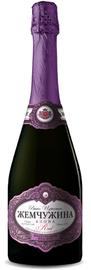 Российское шампанское красное полусладкое «Жемчужина Азова»